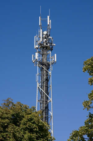 Major EMF Source Mobile Phone Mast